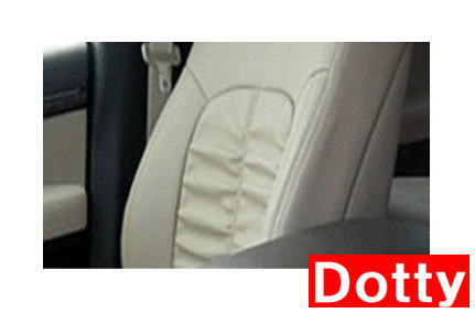 【Dotty】 LUXUR シートカバー 1台分 スクラムバン (4人乗り)にお勧め! DG64V系 H24/5→H27/1 品番:9301