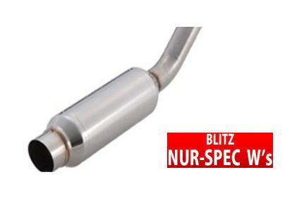 """【ブリッツ/BLITZ】 エスティマ 等にお勧め ニュルスペック NUR-SPEC W""""s マフラー 型式等:ACR40W 品番:67054"""