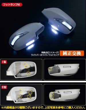 【レヴィーア】 LEDウィンカーミラー Type LS [塗装済み] シーマY33系 にお勧め! 品番:K007