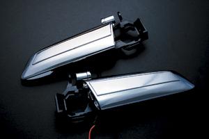 【レヴィーア】 LEDドアハンドル / リア・片側スライドドア(左)車用 ハイエース200系 にお勧め!