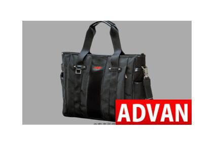 ADVAN ビジネストートバッグ / ブラック 品番:F1623 人気のアドバングッズ YOKOHAMA ヨコハマタイヤ