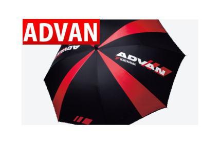 ADVANパラソル レーシングパラソル 品番:F1711 人気のアドバングッズ YOKOHAMA ヨコハマタイヤ