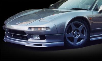 【GruppeM】 フロントリップスポイラー Ver.1 [FRP] ホンダ NSX にお勧め! 品番:GM-0101