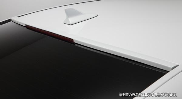 【LX-mode】レクサス LS460/600h 等にお勧め LXカラードリアルーフスポイラー 塗装済 型式等:40系後期
