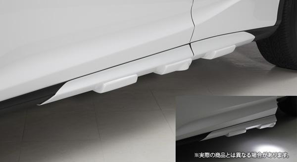 【LX-mode】レクサス RX450h/200t 等にお勧め LXサイドマッドガード(LEDなし) 未塗装 型式等:20系