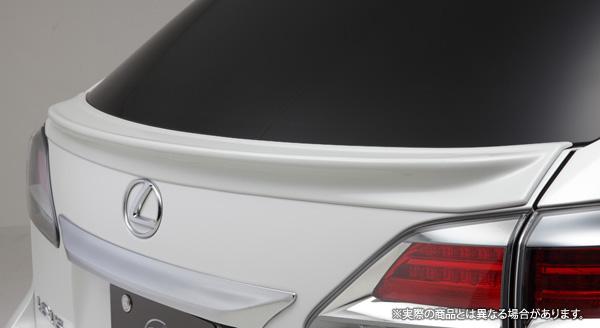 【LX-mode】レクサス RX450h/350/270 等にお勧め LXカラードテールゲートスポイラー(塗装済) 型式等:10系後期