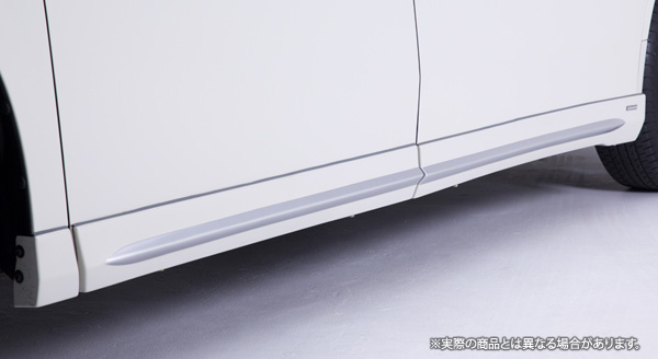 【LX-mode】アルファード 等にお勧め LXカラードサイドマッドガード 標準バンパー用 塗装済 型式等:30系