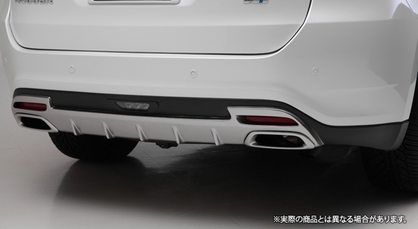 【LX-mode】ハリアー 等にお勧め LXリアバンパーディフューザー(未塗装) 型式等:ZSU60/65,AVU65
