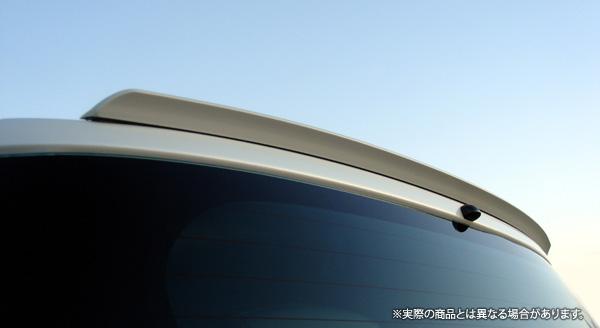 LXモード 高品質 エアロパーツ シリーズ LX-mode 販売実績No.1 トヨタ iQ 買収 NGJ10系 LXリアルーフエンドスポイラー 型式等:KGJ10 等にお勧め 未塗装