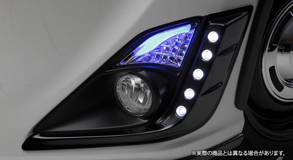 【LX-mode】トヨタ 86/ハチロク 等にお勧め LXフォグランプガーニッシュ(LEDなし) 型式等:ZN6