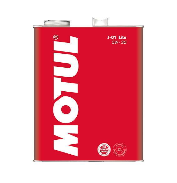 送料無料 モチュール 高品質100%化学合成 MOTUL J-01 4L エンジンオイル 最新アイテム Lite 5W-30 !超美品再入荷品質至上!