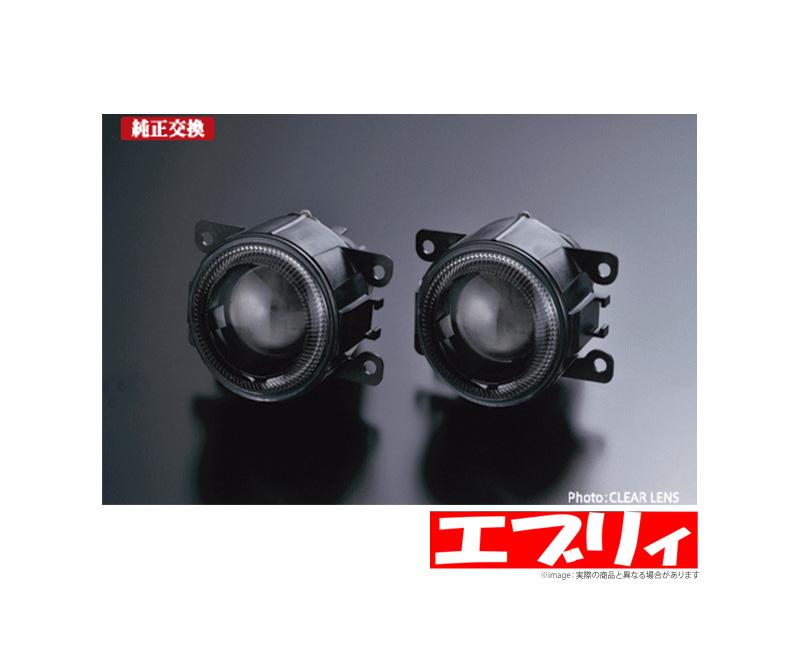 【ライツ/REIZ】 エブリイワゴン 等にお勧め CCFLプロジェクターフォグランプ(クリアレンズ) 型式等:DA64W 5型~以降
