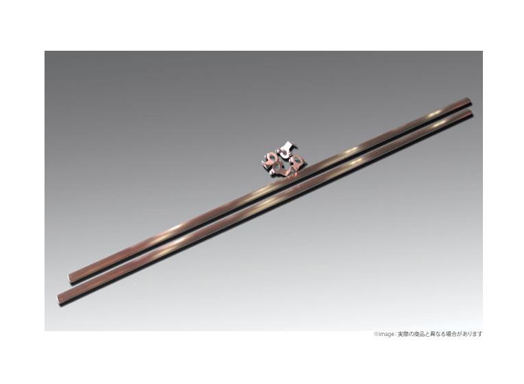 【ユーアイビークル UI vehicle】ハイエース 等にお勧め ルームキャリア移動レール ワイドボディー用 型式等:200系