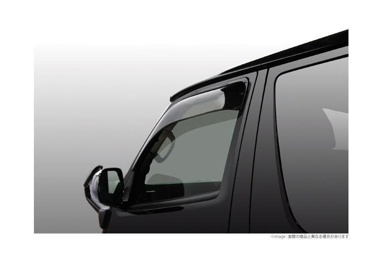 【ユーアイビークル UI vehicle】ハイエース 等にお勧め ワイドバイザー 左右セット 型式等:200系