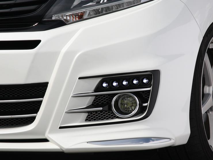 【アドミレイション/Admiration】 オデッセイ 等にお勧め LEDスポットキット 5連 素地 ベルタ BELTA エアロシリーズ 型式等:RC1/2/4