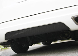 【Elford】ハイエース 等にお勧め ELFORDエアロ用カーボンパネル / 標準車リアバンパー用