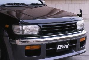 【Elford】テラノ 等にお勧め フロントスポイラー [未塗装] 型式等:R50