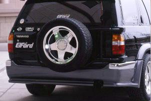 【Elford】テラノ 等にお勧め リアバンパースポイラー [未塗装] 型式等:R50
