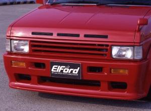 【Elford】テラノ 等にお勧め フロントスポイラー [未塗装] 型式等:D21