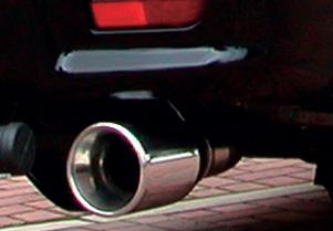 【Elford】デリカスペースギア 等にお勧め レボルシオンマフラー・タイプSショート 型式等:PD6W