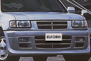 【Elford】ウィザード 等にお勧め フロントスポイラー [未塗装]