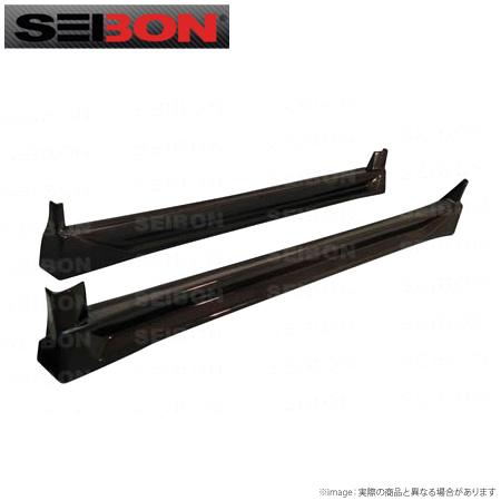 【SEIBON/セイボン】インプレッサ / WRX GDB用サイドスカート左右セット直輸入品