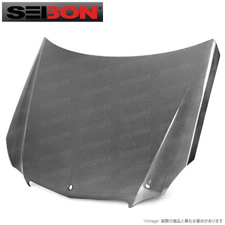 【SEIBON/セイボン】MercedesBenz Eクラス (DOES NOT FIT E-63) 用ボンネット直輸入品