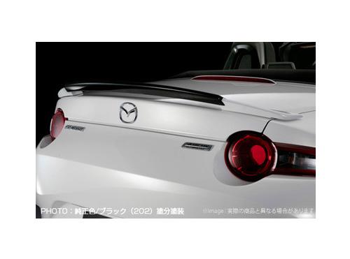 【SilkBlaze】リアウイング ###/YR562 塗分け塗装済み 純正色+ガンメタ シルクブレイズ エアロ ロードスター ND系 ND5RC 系にお勧め 品番:TSR-RS-RW-###G