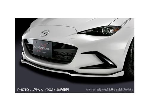 【SilkBlaze】バンパーダクトカバー WETカーボン / クリア塗装済み シルクブレイズ エアロ ロードスター ND系 ND5RC 系にお勧め 品番:TSR-RS-BDC-C