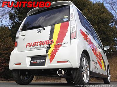 【FUJITSUBO】AUTHORIZE K マフラー LA100S ムーヴ カスタム ターボ 2WD などにお勧め 品番:740-70193 フジツボ オーソライズK
