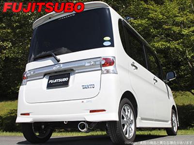 【FUJITSUBO】AUTHORIZE K マフラー L575S ムーヴ コンテ カスタム ターボ 2WD などにお勧め 品番:750-70184 フジツボ オーソライズK