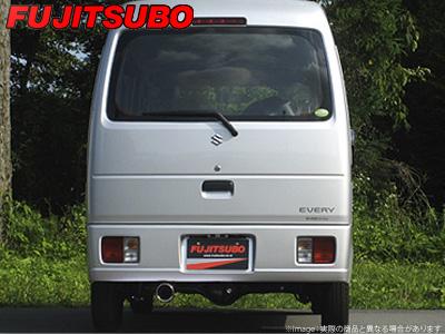 【FUJITSUBO】AUTHORIZE K マフラー DA64V エブリイ バン NA 2WD・4WD などにお勧め 品番:750-80412 フジツボ オーソライズK