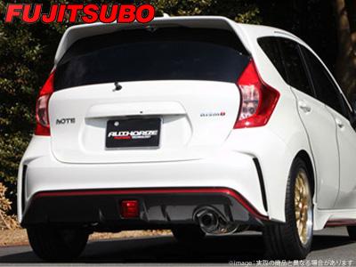 【FUJITSUBO】AUTHORIZE S マフラー E12 ノート ニスモ 1.2 などにお勧め 品番:340-11736 フジツボ オーソライズS