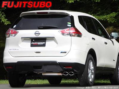 【FUJITSUBO】AUTHORIZE S マフラー HNT32 エクストレイル ハイブリッド 4WD などにお勧め 品番:350-18032 フジツボ オーソライズS