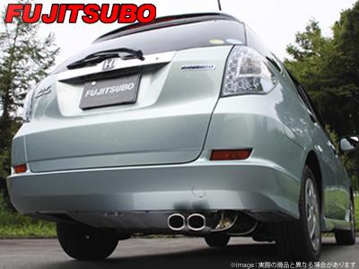 【FUJITSUBO】AUTHORIZE S マフラー GG7 フィット シャトル 1.5 2WD などにお勧め 品番:350-51542 フジツボ オーソライズS