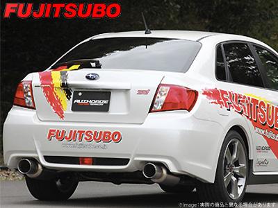 【FUJITSUBO】AUTHORIZE S マフラー GVB WRX STI 4door などにお勧め 品番:350-63081 フジツボ オーソライズS