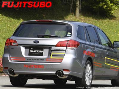 【FUJITSUBO】AUTHORIZE S マフラー BRG レガシィ ツーリングワゴン 2.0 ターボ DIT などにお勧め 品番:350-64095 フジツボ オーソライズS