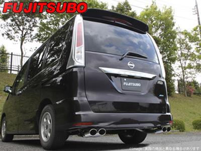 【FUJITSUBO】AUTHORIZE S マフラー CC25 セレナ ハイウェイスター 2WD などにお勧め 品番:360-17147 フジツボ オーソライズS