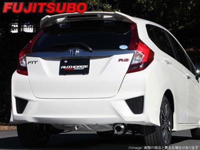 【FUJITSUBO】AUTHORIZE R マフラー GK5 フィット 1.5 2WD RS などにお勧め 品番:550-51552 フジツボ オーソライズR