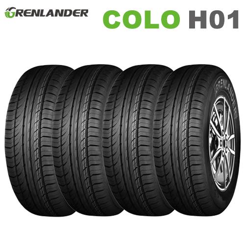 サマータイヤ 4本セット 215/55R17 94V 17インチ グレンランダー COLO H01 【2019年製】