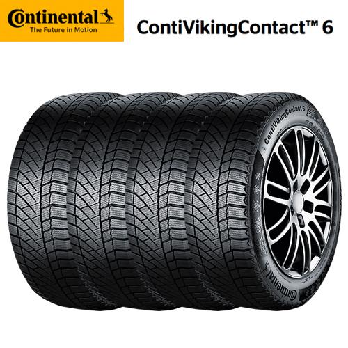 【送料無料】18インチ(225/55R18)スタッドレスタイヤ 4本セット コンチネンタル コンチバイキングコンタクト6 CVC6 SUV 225/55R18 98T スタッドレスタイヤ 4本セット