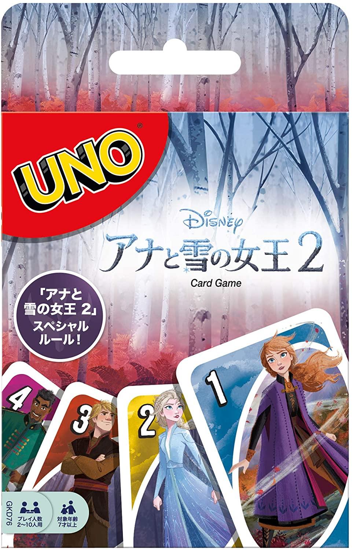 ウノ アナと雪の女王2 UNO FROZEN2 送料無料激安祭 スペシャルルールカード ネイチャー付き オブ 業界No.1 GKD76 フォース