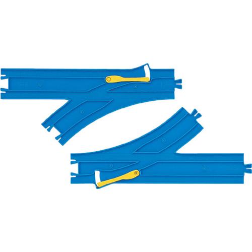 (税込み¥320/個)プラレール ターンアウトレール(L・R各1本入) R-11【1カートン/36入り】カートンボックス販売