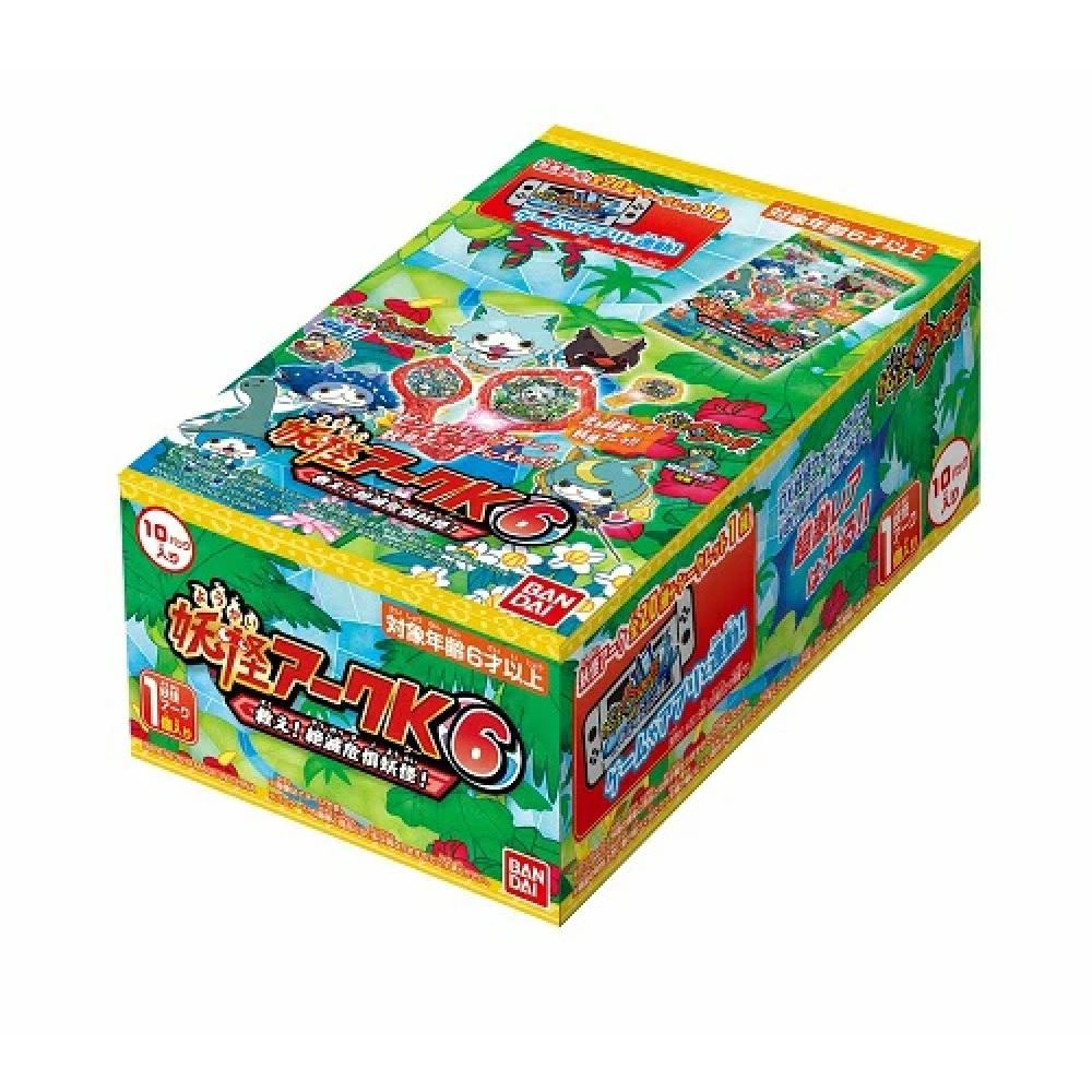 ランキングTOP10 妖怪ウォッチ 妖怪アークK6 ~救え 絶滅危惧妖怪 10パック入 ~ 国内正規品 BOX