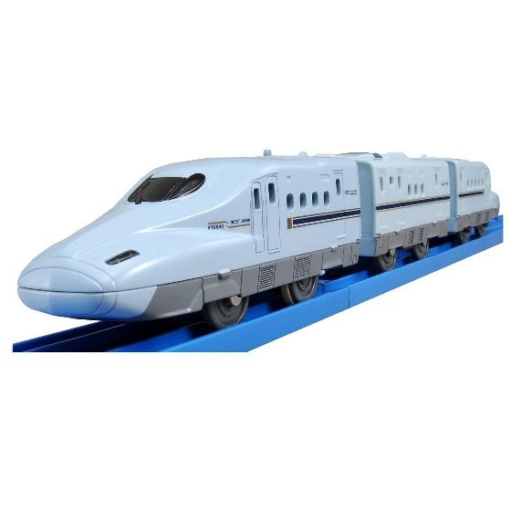 1個あたり/税込み¥1901 プラレール S-04 ライト付N700系新幹線みずほ・さくら【1カートン/24入り】カートンボックス販売