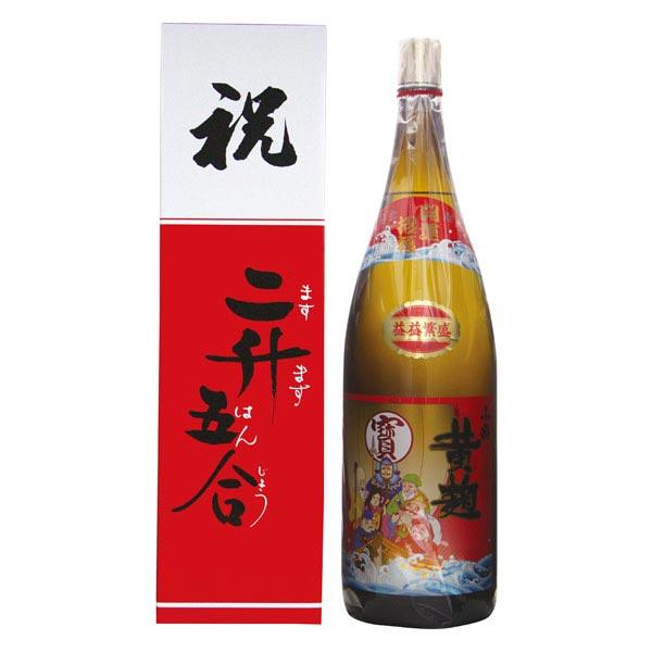 小正醸造 25度 小鶴黄麹七福神4.5L(1106)