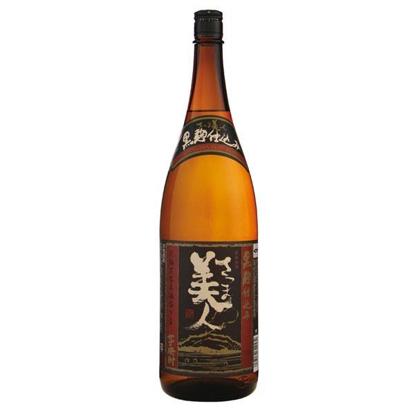 福徳長酒類 25度 さつま美人黒麹1800ml×6本セット【焼酎】【しょうちゅう】【1升瓶】【まとめ買い】