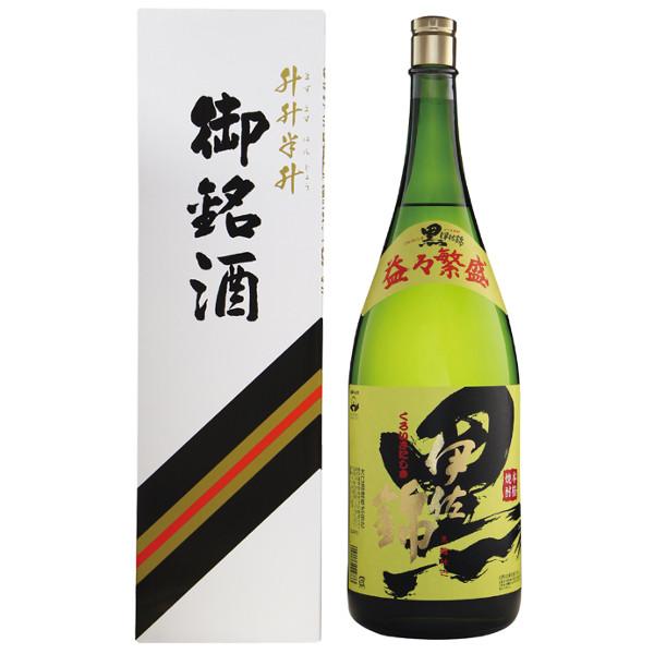 大口酒造 25度 黒伊佐錦益々繁盛4500ml(瓶)