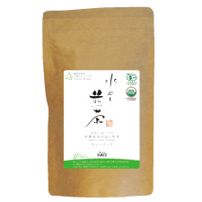 5 g of green tea of medium quality tea bags of the organic JAS authorization leaf っ ピィ Mukoujima garden *15 bag (HOT, ICE for two uses)