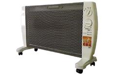 空気を汚さず温める、遠赤外線の健康暖房 「マイカの岩盤浴(M-600)/4.5畳まで」 【送料無料】(HZ)